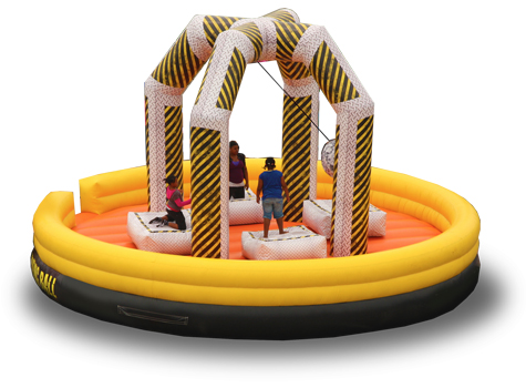 wrecking-ball-inflatable hire